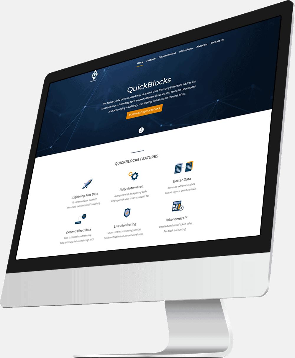 vidal herrero web designer screen